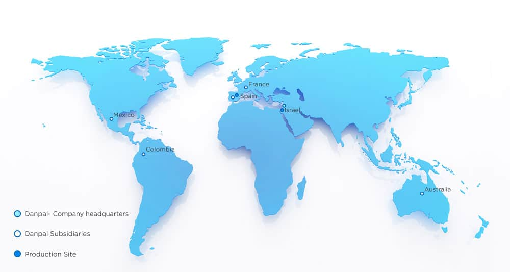 danpal world map