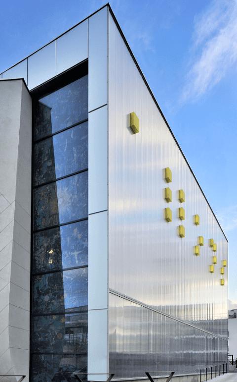 facade material