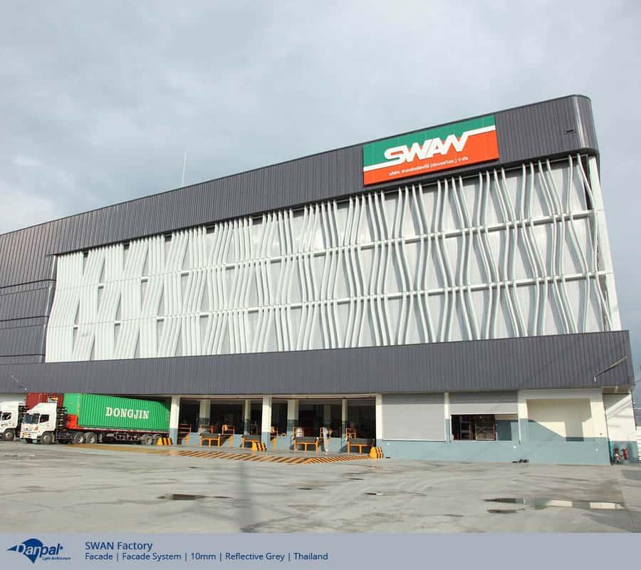 External facade cladding