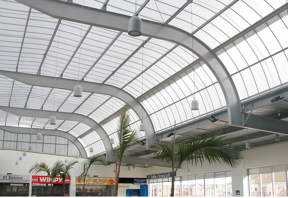 Las cubiertas livianas de Danpal aseguran conductividad térmica ínfima