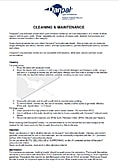 DANPALON – CLEANING INSTRUCTIONS