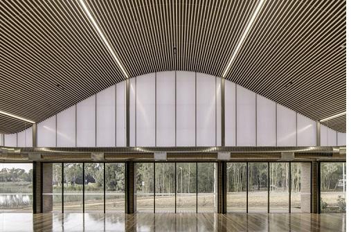 luz natural en la arquitectura - Centro Vecinal Woodcroft