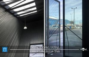DP SPAIN SCANIA BUILDING HUELVA Roofing Photos 04