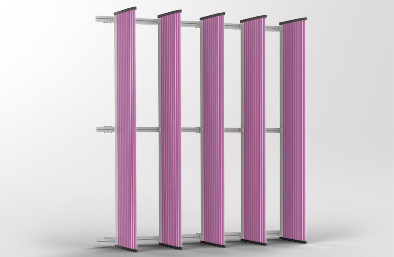 Danpal Louvre Systems Personalize Vertical Louvre Panels