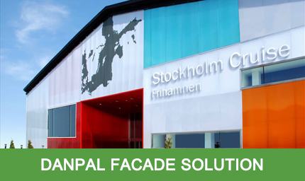 Industrial Solution - Danpal Facade System