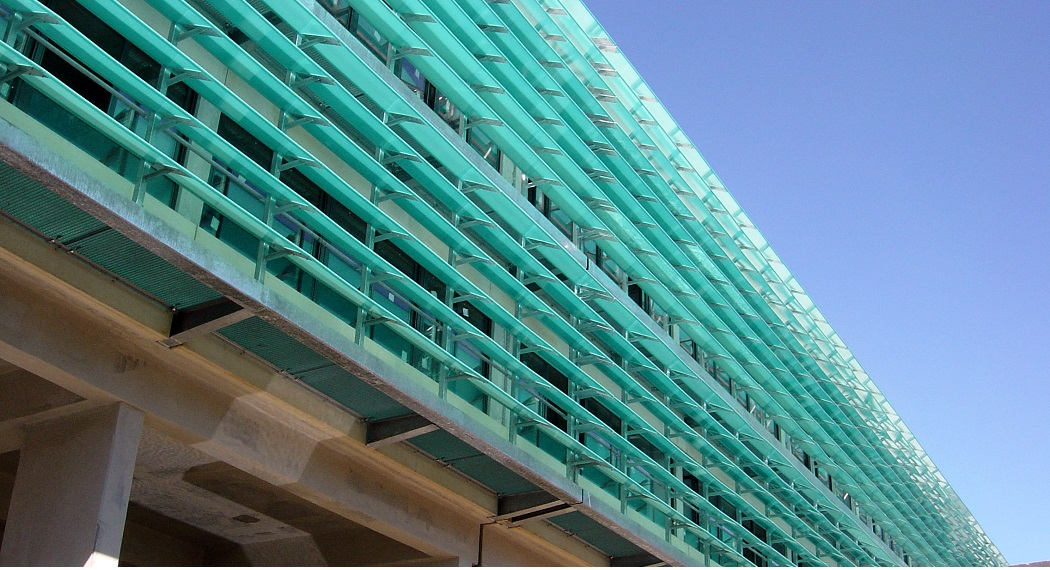 A Louver Façade Is At Your Service For Sunlight and Shade